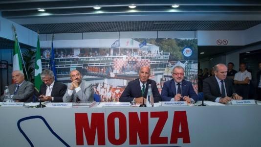 L'impegno di ACI e AC Milano per il rinnovo del contratto.  Prima del via, domenica, il mondo della Formula 1 in silenzio per ricordare le vittime del terremoto.