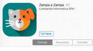 zampa a zampa app