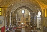L'interno della Chiesa di San Pietro a Trobaso, Verbania