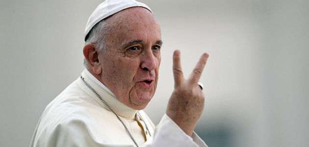 VATICAN-POPE-AUDIENCE-ALTAR SERVERS