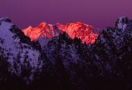 Corni di Nibbio con Monte Rosa all'alba -  Parco Nazionale della Val Grande(Piemonte)