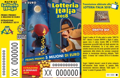Lotteria Italia: lo scorso anno premi per 3,5 milioni in Lombardia e 2,7 in Piemonte