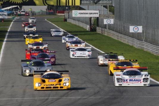 Monza Historic, quasi 200 vetture d'epoca correranno nel Tempio della Velocità