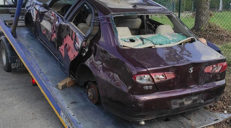 Varese, al via la rimozione delle auto abbandonate